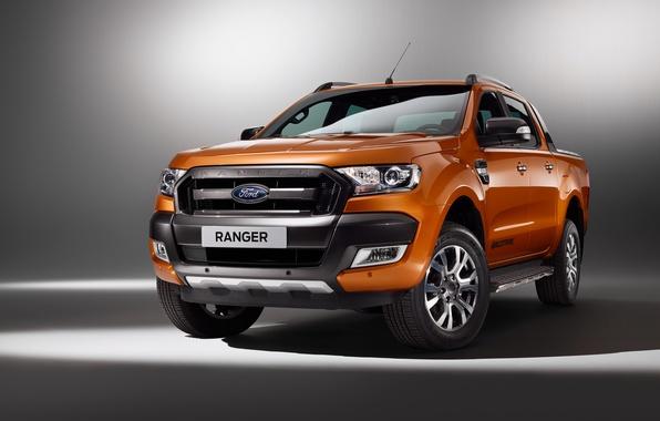 Картинка Ford, форд, ренджер, Ranger, 2015, Wildtrak
