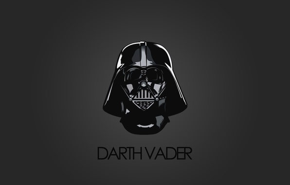 Обои Star Wars, Darth Vader, Minimalism, Dms картинки на