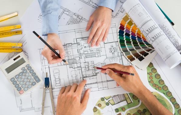 Картинка colors, design, architecture, flat housing organization
