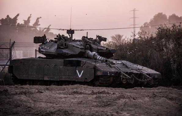 Картинка танк, боевой, Меркава, Merkava