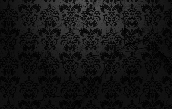 Картинка фон, чёрный, узор, текстура