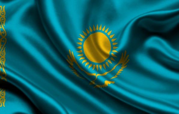 Флаг картинки казахстан