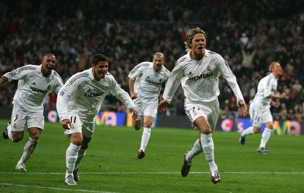 Картинка Спорт, Звезда, Футбол, David Beckham, Дэвид Бекхэм, Football, Реал Мадрид, Футболист, Legends, Zidane, Игрок, Goal, …