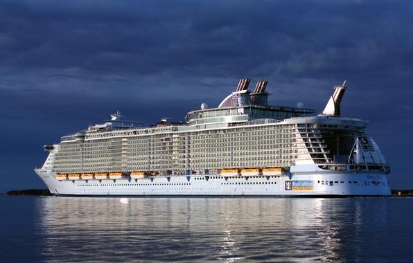 Картинка корабль, лайнер, Oasis of the Seas