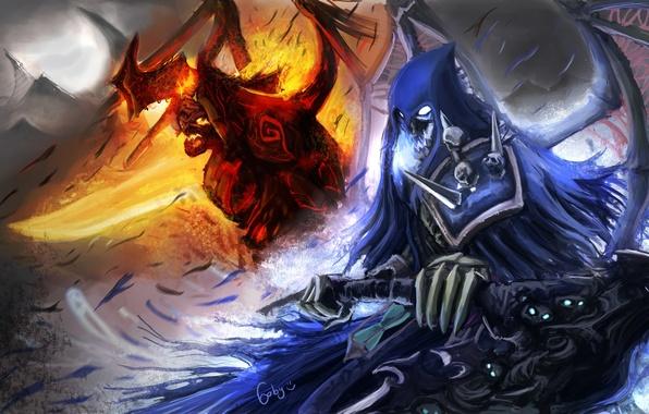 Darksiders War Wallpaper By: Death And War (Darksiders) VS. Dante And Vergil (DmC