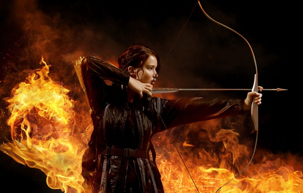 Картинка fire, end, the, games, boom, brunette, film, clothing, shot, manicure, jennifer lawrence, hunger games, string, …