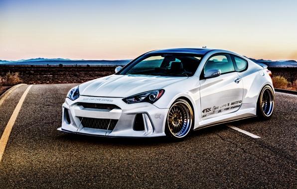 Картинка Hyundai, Coupe, Genesis, генезис, ARK Performance, хундай