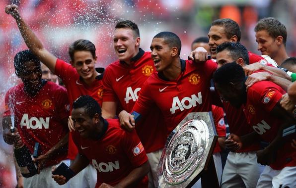 Картинка Англия, Футбол, Robin, Football, England, Manchester United, Манчестер Юнайтед, Rooney, Soccer, Devils, АПЛ, 2013, Манчестер, …