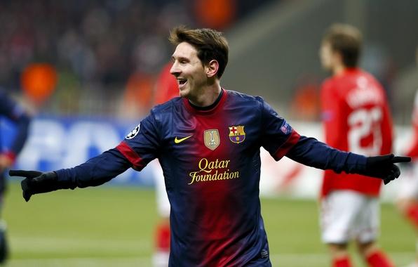 Картинка футбол, спорт, Звезда, Форма, Лионель Месси, Lionel Messi, Клуб, Лига Чемпионов, Champions League, UEFA, Футболист, …