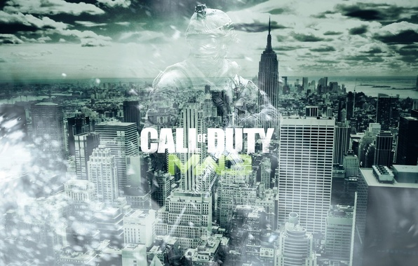 Картинка город, арт, call of duty, art, modern warfare 3, mw 3