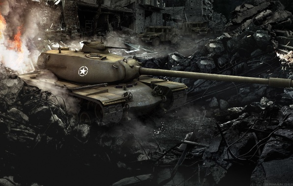 Картинка танк, USA, США, танки, WoT, Мир танков, tank, World of Tanks, tanks, T110E5, Wargaming.Net, BigWorld
