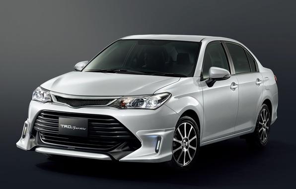 Картинка Toyota, тойота, королла, TRD, Corolla, 2015, Axio