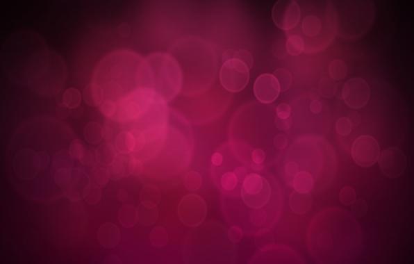 Картинка блики, пузыри, фон, графика, абстракт, тень, текстура, точки, розово-черный фон
