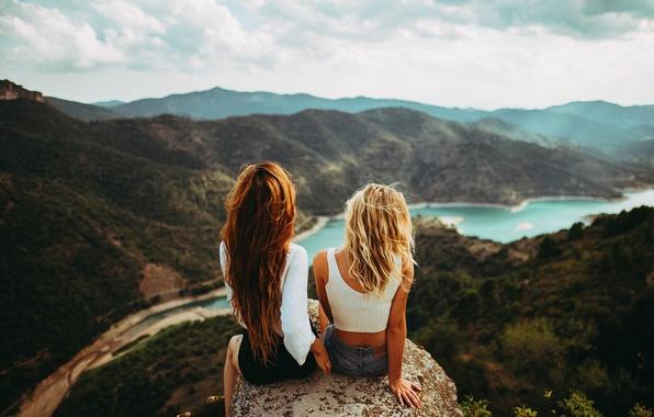 природа и девушки фото