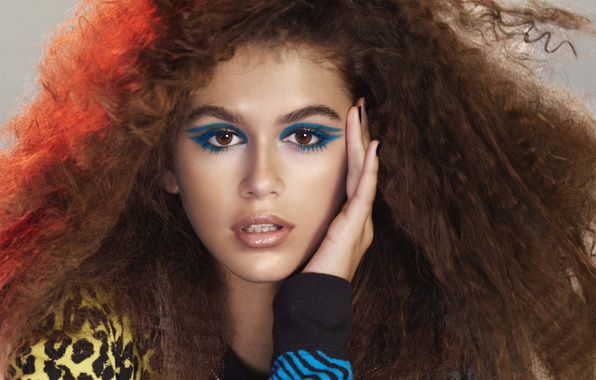 Картинка model, makeup, Kaia Gerber, Marc Jacobs beauty spring