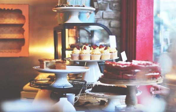 Картинка ягоды, выпечка, кексы