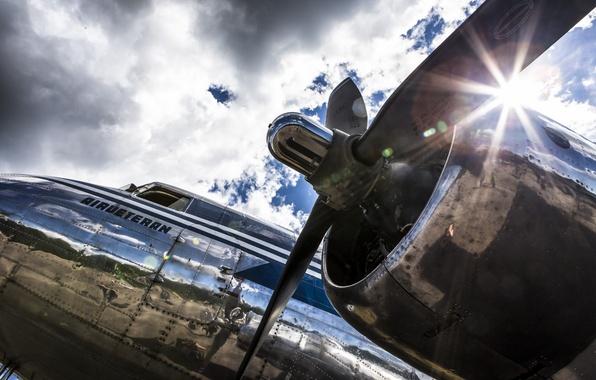 Фото обои авиация, самолёт, DC-3