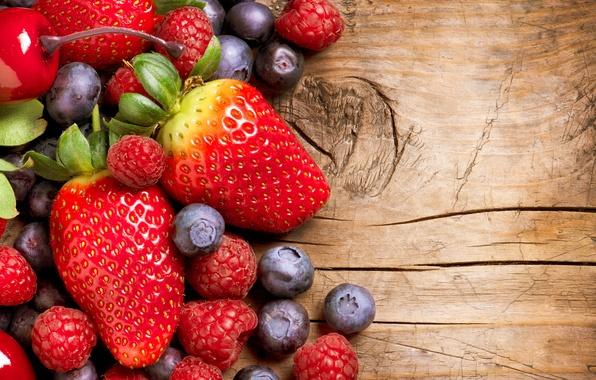 Картинка ягоды, малина, еда, клубника, фрукты, смородина, food, fruit, cherry, berries, strawberries, currants, raspberries