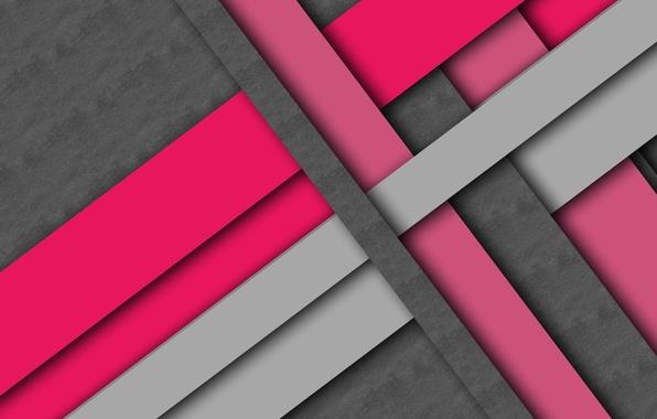Картинка линии, серый, фон, розовый, текстура, малиновый