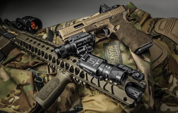 Картинка gun, accessories, assault rifle, equipment