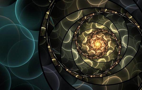 Картинка круги, абстракция, узор, арт, art, боке