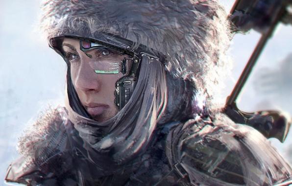 Девушка the future