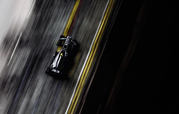 Картинка гонка, скорость, трасса, формула 1, болид, grand prix, formula 1, 2011, сингапур, williams, singapore, автоспорт, …