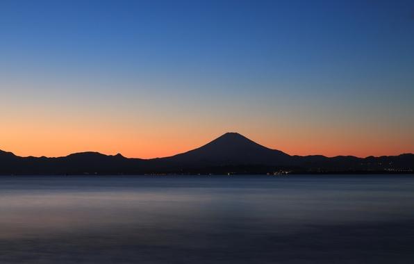 Обои картинки фото япония fuji горы