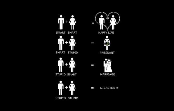 Картинка любовь, сердце, юмор, Минимализм, love, heart, funny, смешные, Minimalism, humor, smart, жених и невеста, bride …