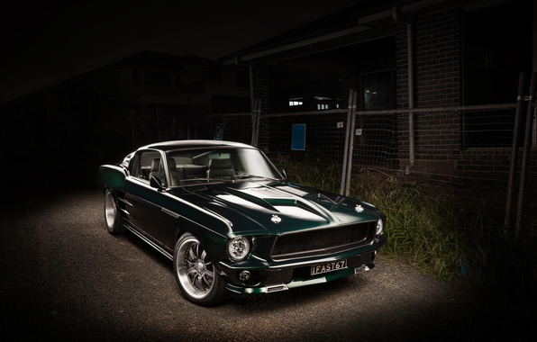 picture 1967 fastback mustang ford