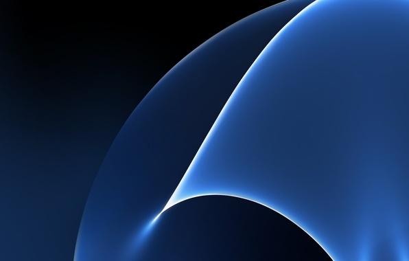 Картинка Blue, Galaxy, Wallpaper, Samsung, Stock, Abstraction