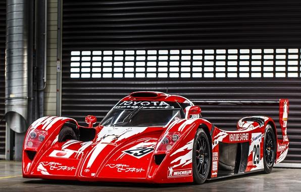 Картинка red, Toyota, автомобиль, тойота, 1998, гоночный, GT One, Race Version