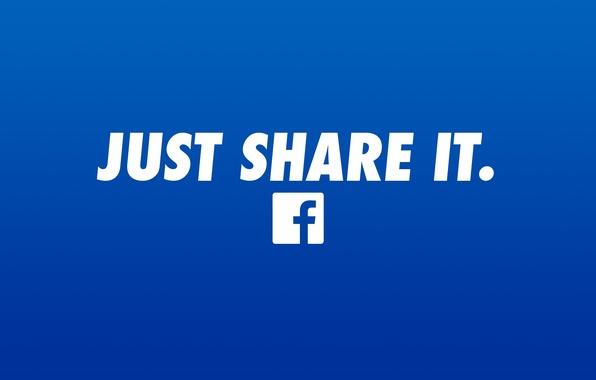Картинка logo, blue, facebook