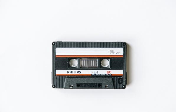 Картинка воспоминания, кассеты, Philips
