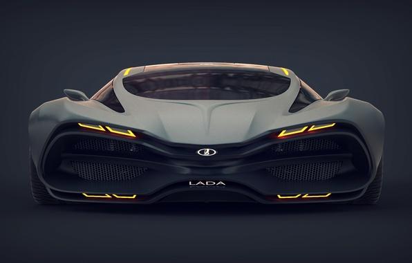 Картинка Concept, Car, Lada, Лада, Передок, Raven, Равен