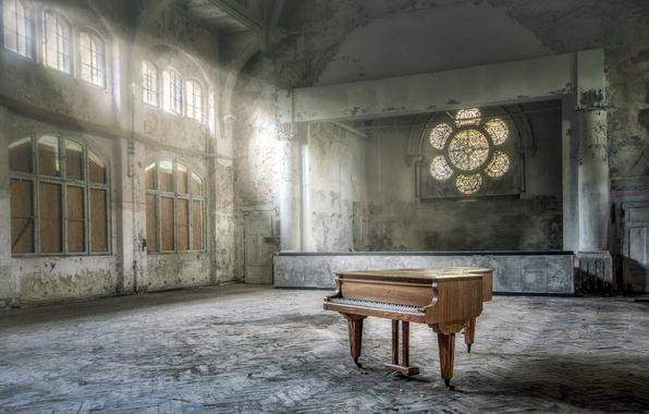 Пианино обои рабочий стол 8
