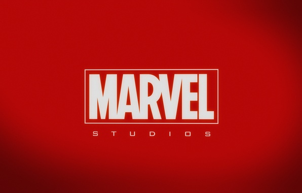 Картинка red, logo, background, Marvel, MARVEL