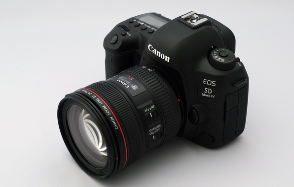Фото обои camera, lens, EOS 5D Mark IV, Canon