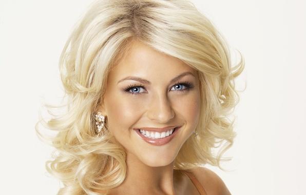 Картинка лицо, улыбка, блондинка, певица, танцовщица, Julianne Hough
