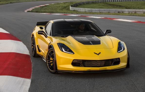 Картинка Z06, Corvette, Chevrolet, суперкар, шевроле, Coupe, корвет, 2015, C7.R Edition