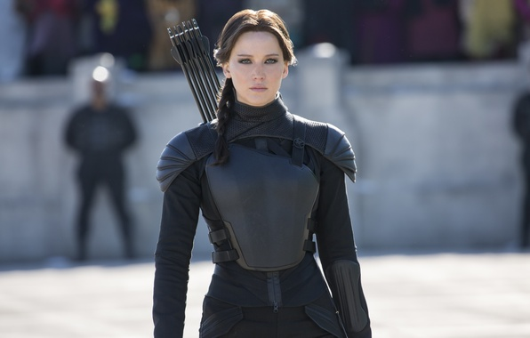Картинка Jennifer Lawrence, Голодные игры, Katniss Everdeen, Сойка-пересмешница, The Hunger, Games-Mockingjay