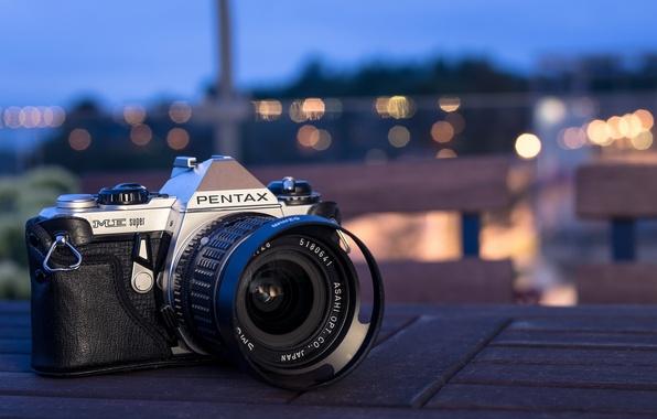 Картинка фон, камера, Pentax ME Super