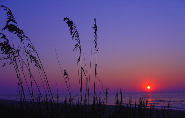 закат пейзаж фото
