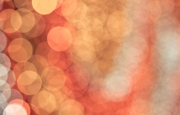 Картинка свет, круги, фон, цвет