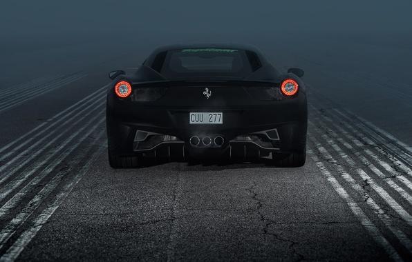 Картинка Ferrari, 458, Italia, Ferrari 458