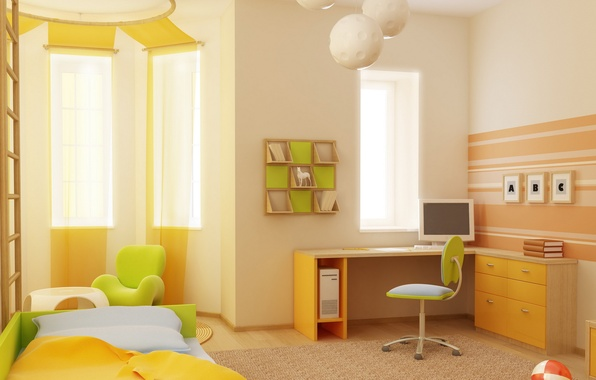 ... квартира, детская обои (фото, картинки: goodfon.ru/wallpaper/interer-stil-dizayn-komnata.html
