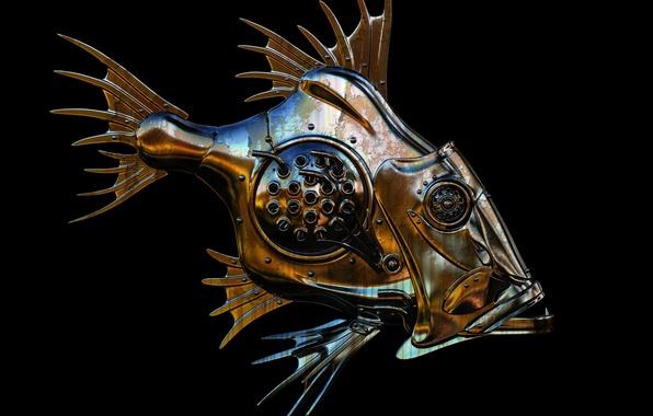 Рыба из металла своими руками 80