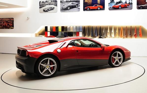 Картинка автомобиль, феррари, autowalls, hd wallpaper, Ferrari SP12 EC