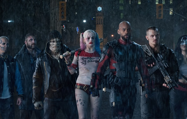Картинка Will Smith, DC Comics, Deadshot, Harley Quinn, Captain, Jai Courtney, Killer, Rick, Cara Delevingne, Joel …