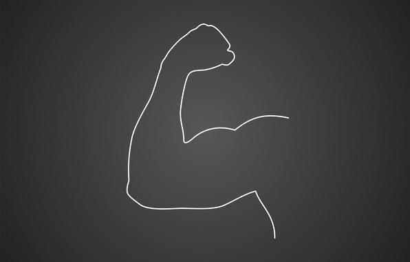 Картинка сила, рука, качок, мышцы, бицепс